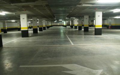 Parking subterraneo en calle Carballino ALCORCON MADRID